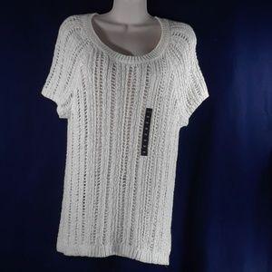 Torrid cream summer sweater